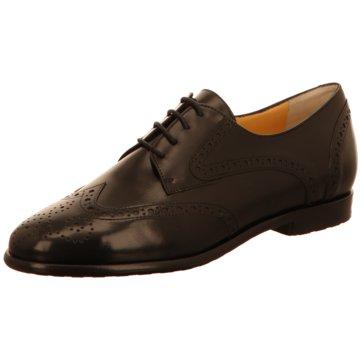 Truman's Schnürschuh schwarz
