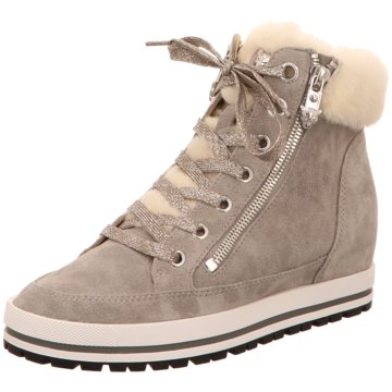 Marc Cain Modische Sneaker grau