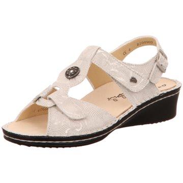 FinnComfort Komfort Sandale weiß