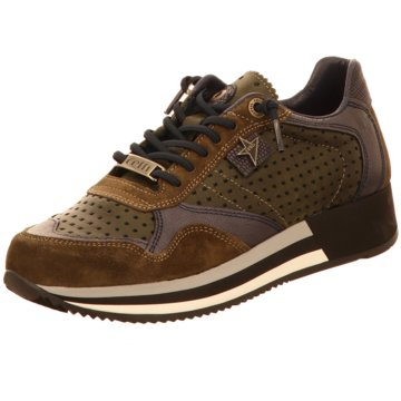 Cetti Plateau Sneaker braun