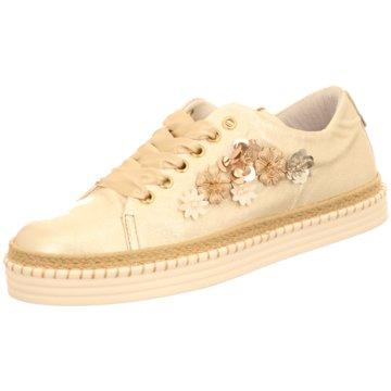 Alpe Woman Shoes Plateau Sneaker beige