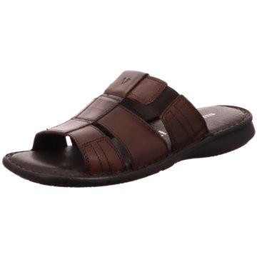 Valleverde Komfort Sandale braun