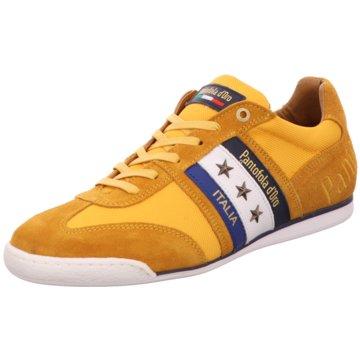 Pantofola d` Oro Sportlicher SchnürschuhImola Canvas Uomo Lo gelb