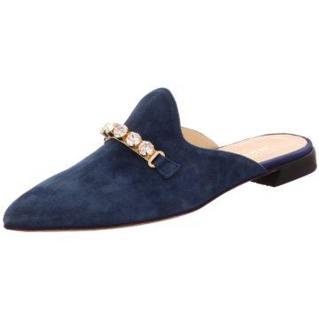 Brunate Mules Pantoletten blau