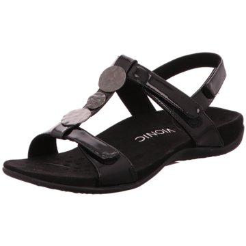 Vionic Komfort Sandale schwarz