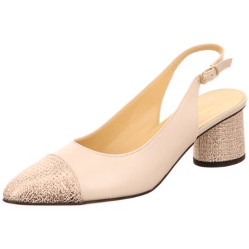 Brunate Slingpumps beige