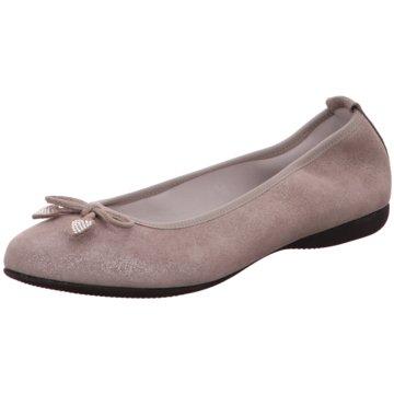 Diavolezza Klassischer Ballerina grau