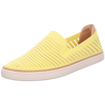 UGG Australia Sportlicher Slipper gelb