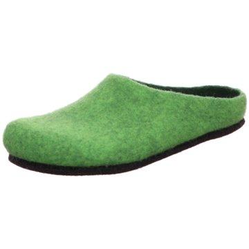 Stegmann Hausschuh grün