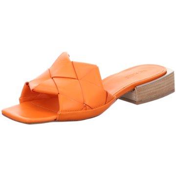 Vic Matié Pantolette orange