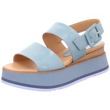 Paloma Barceló Sandalette blau