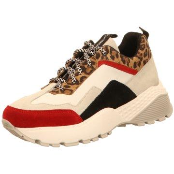 Sommerkind Plateau Sneaker weiß
