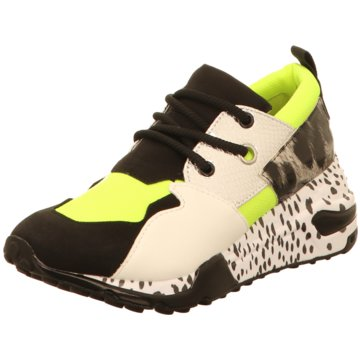 Steve Madden Plateau Sneaker schwarz