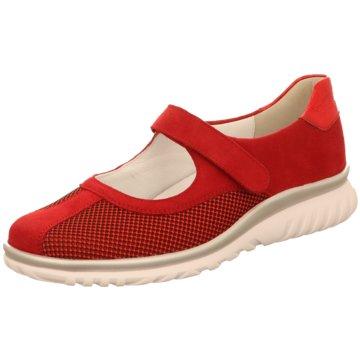 Semler Komfort Slipper rot