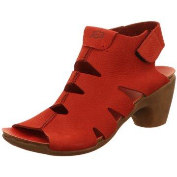 Loint's of Holland Komfort Sandale rot
