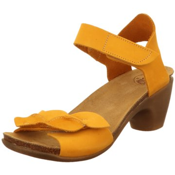 Loint's of Holland Riemchensandalette gelb