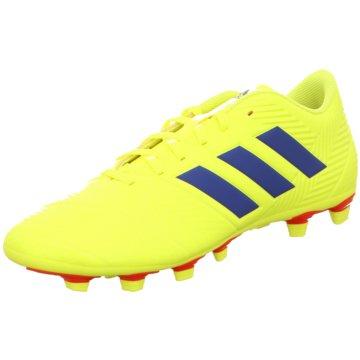 adidas Nocken-SohleNemeziz 18.4 FxG Fußballschuh - BB9440 weiß