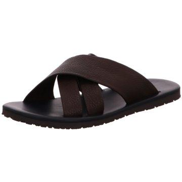 The Sandals Factory Pantolette braun