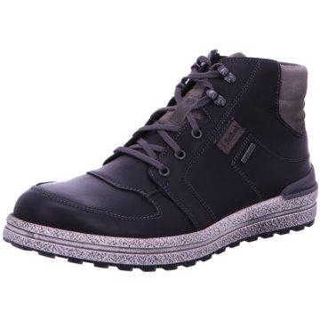 the best attitude 866e6 38e49 Josef Seibel Sneaker High schwarz