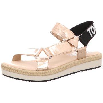 Tommy Hilfiger Top Trends Sandaletten beige