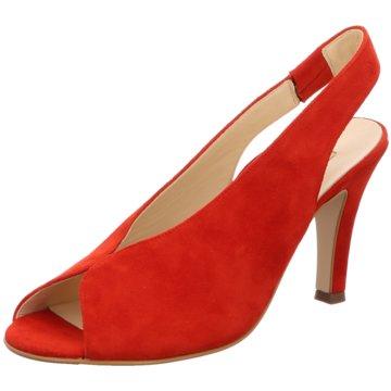 Paul Green Top Trends Sandaletten rot