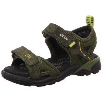 Ecco Sandale grün