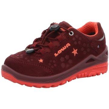 LOWA Wander- & BergschuhSneaker rot