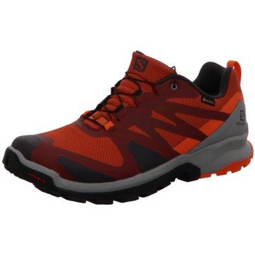 Salomon Outdoor Schuh rot
