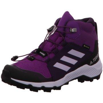 adidas Wander- & Bergschuh lila