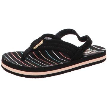 Reef Offene Schuhe schwarz
