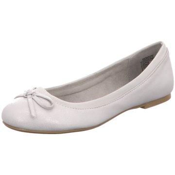 Idana Klassischer Ballerina silber