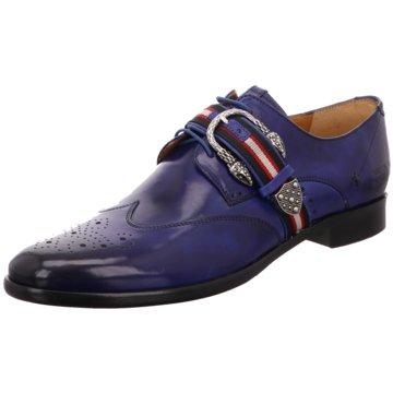Melvin & Hamilton Business Slipper blau