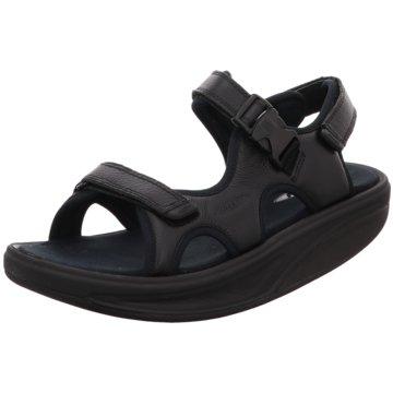 MBT Komfort Sandale schwarz