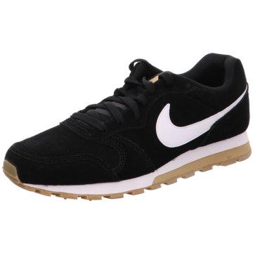 Nike Sneaker LowMD Runner 2 Suede schwarz
