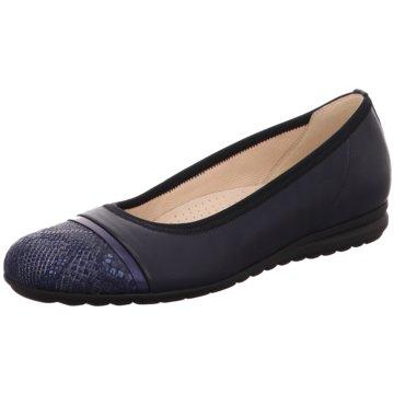 Gabor comfort Klassischer BallerinaFlorenz, G blau