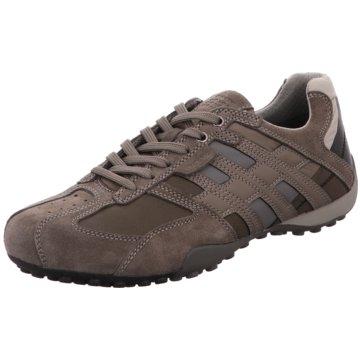 Geox Sportlicher SchnürschuhSneaker beige