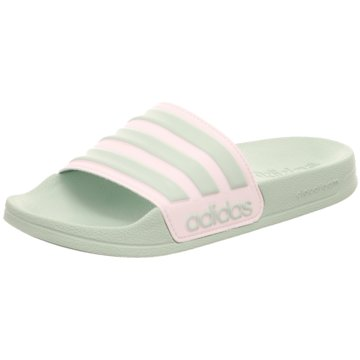 adidas BadelatscheAdilette Shower Women grün