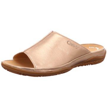 Gabor comfort Komfort Pantolette gold