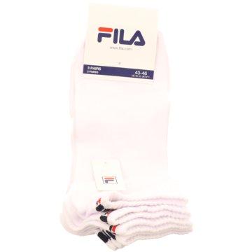Fila Socken / Strümpfe weiß