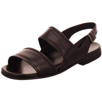 Fratelli Vanni Komfort Sandale schwarz