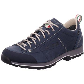 Dolomite Sportlicher Schnürschuh blau