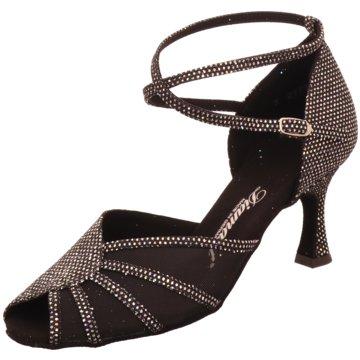 Diamant Tanzschuhe schwarz