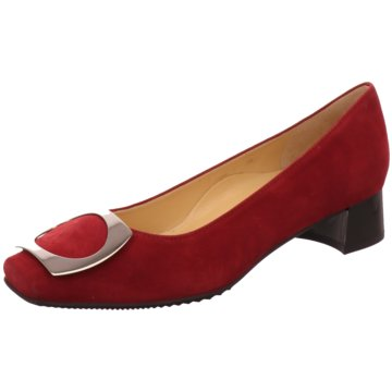 Brunate Komfort Pumps rot