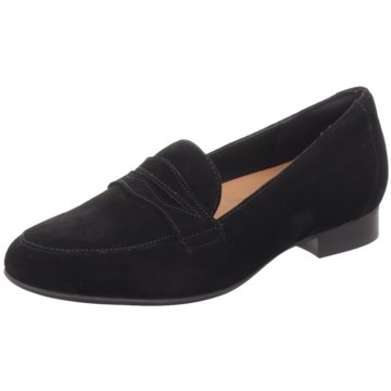 Clarks Business Slipper schwarz