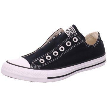 Converse Sportlicher Slipper schwarz