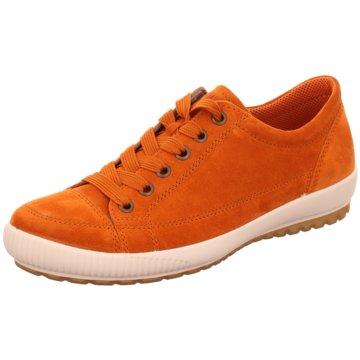 Legero Komfort Schnürschuh orange