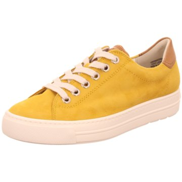 Paul Green Sneaker Low gelb