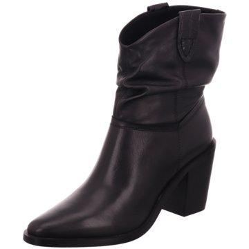 SPM Shoes & Boots Westernstiefelette schwarz