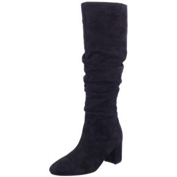 Lederstiefel schwarz Stiefel Damen Größe 39 Top leicht