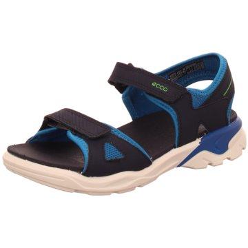 Ecco Offene Schuhe blau
